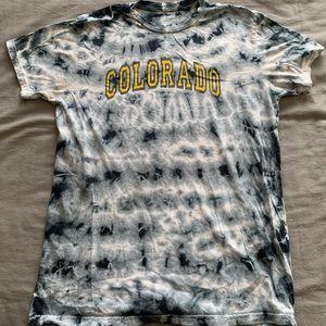 Vintage Retrobrand Tie-Dye Colorado Tshirt